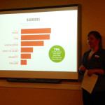 Sarah Zweir, design lead for the Grow Your Own Food team, outlines barrier to taking this action