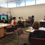 Advisory Committee members work together to construct personas