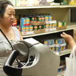 A shopping experience at CAPI's food shelf