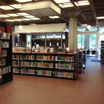 Inside Southeast Library
