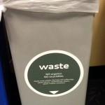An example of a decal used on old plastic trash receptacles